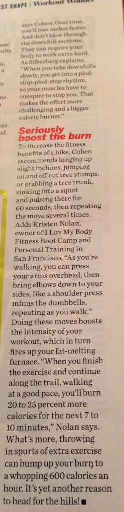 Taken from Health Magazine (July-August 2013), Pg. 43