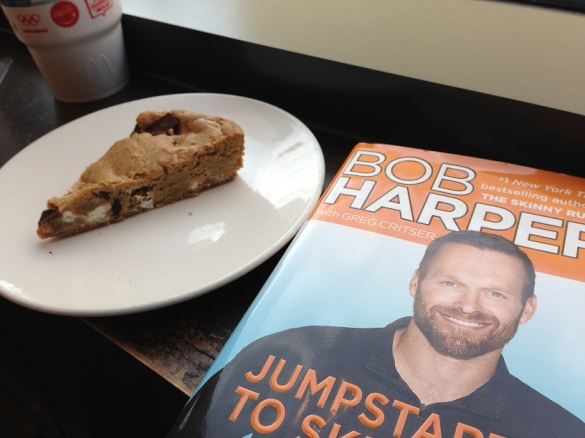 I like to eat pastries while reviewing diet books.  Lets me feel like I'm stickin' it to the man.